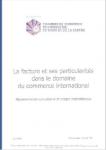 LA FACTURE ET SES PARTICULARITES DANS LE DOMAINE DU COMMERCE INTERNATIONAL