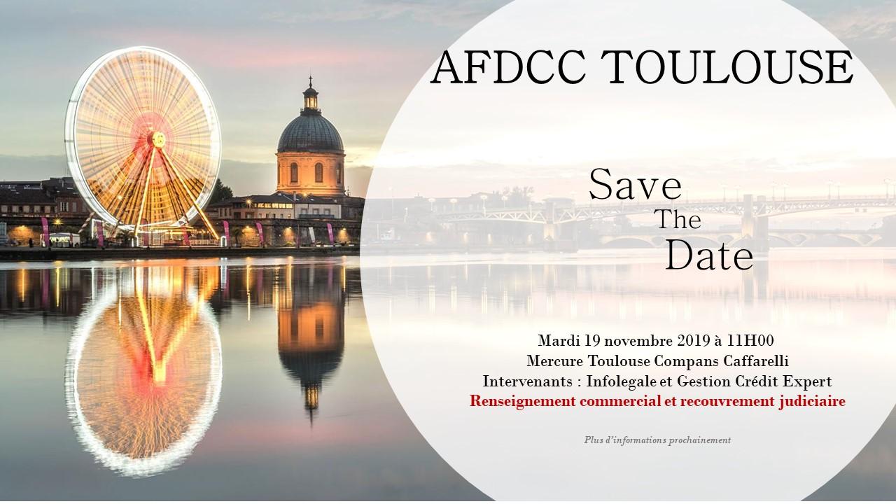 AFDCC TOULOUSE – 19 Novembre : Renseignement commercial et recouvrement judiciaire