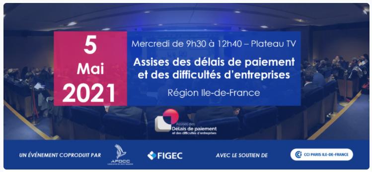 Assises des délais de paiement et des difficultés d'entreprises – Paris Ile-de-France