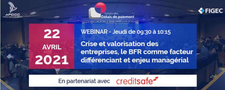 22.04.21 – Crise et valorisation des entreprises, le BFR comme facteur différenciant et enjeu managérial