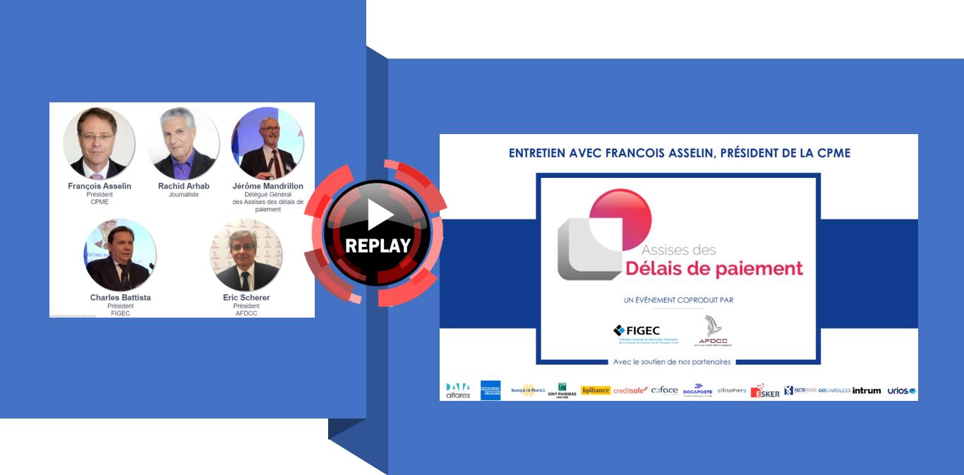 REPLAY du 15.04 : Entretien exclusif avec François Asselin, , Président de la CPME