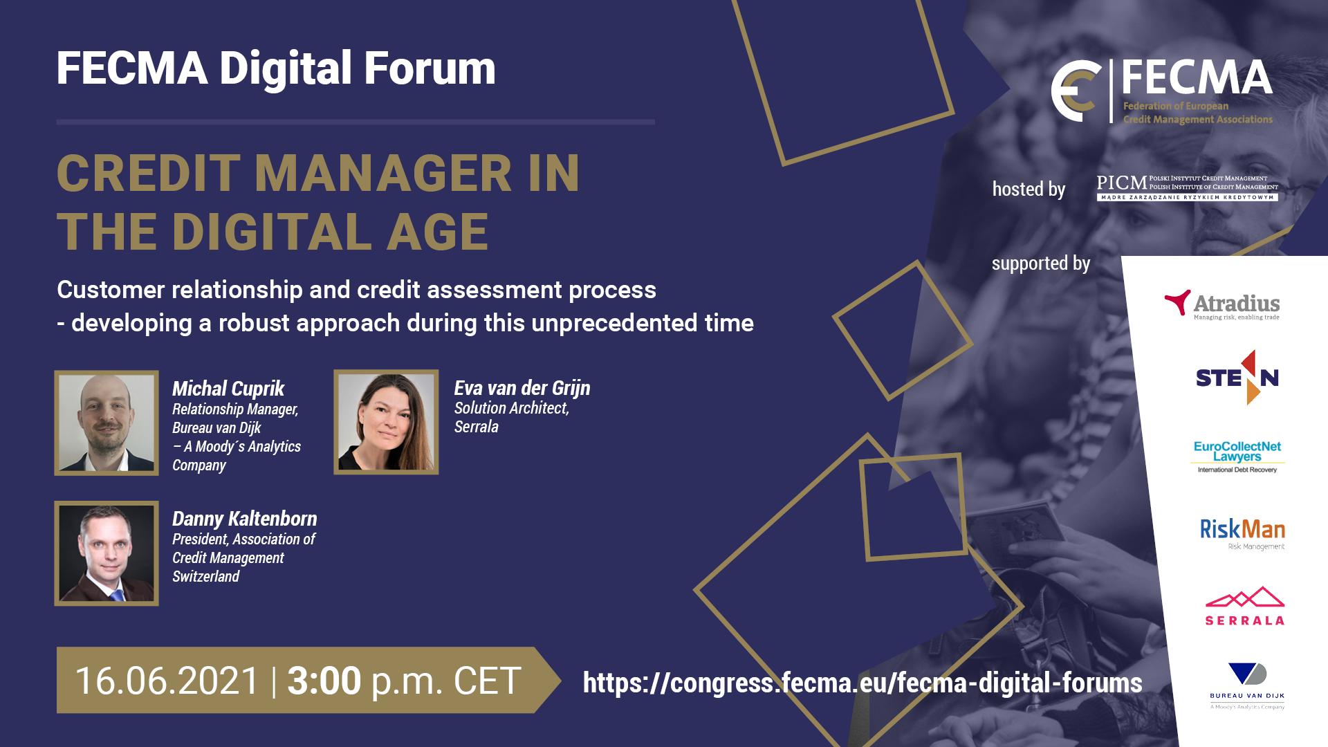 16 juin – FECMA Digital Forum